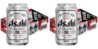 [9月5日発送]アサヒ スーパードライ350ml/48本(24缶×2ケース)新品未開封