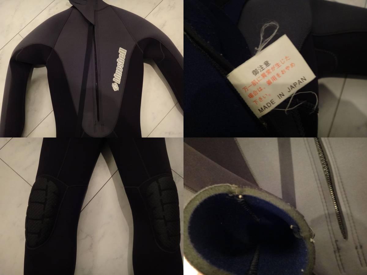 リフラス購入 フルウエットスーツ 3ミリ 日本製_画像3