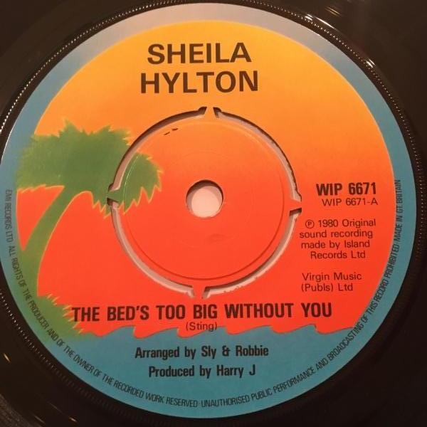 ★Sheila Hylton/The Bed's Too Big Without You★ポリス・レゲエ・カバー&ラバーズ!_画像1