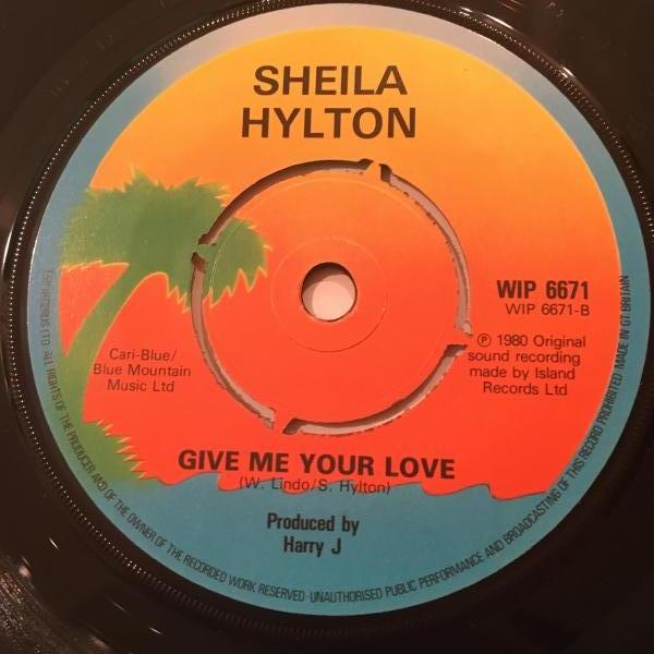 ★Sheila Hylton/The Bed's Too Big Without You★ポリス・レゲエ・カバー&ラバーズ!_画像2