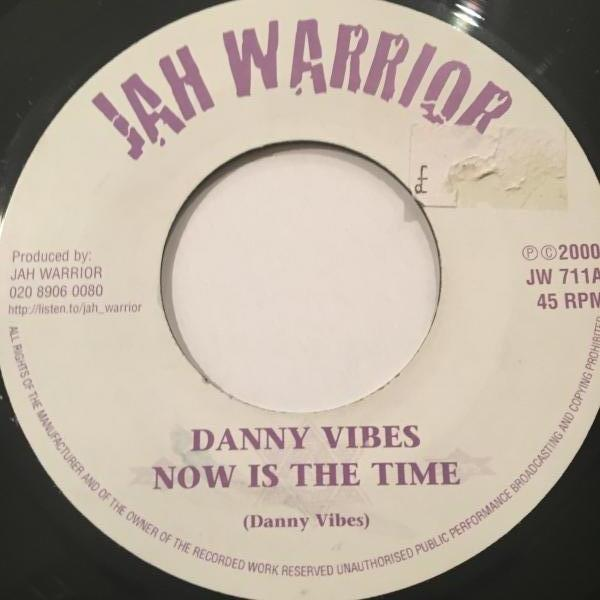 ★Danny Vibes/Now Is The Time★KILLER DIGI ROOTS!_画像1