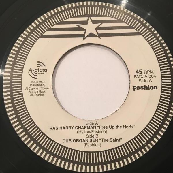 ★Ras Harry Chapman/Free Up The Herb★KILLER UK DIGI!_画像1