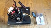 シマノ 美品 13 BB-X ハイパーフォース C3000D TYPE-G スピニングリール レバーブレーキ ティップラン