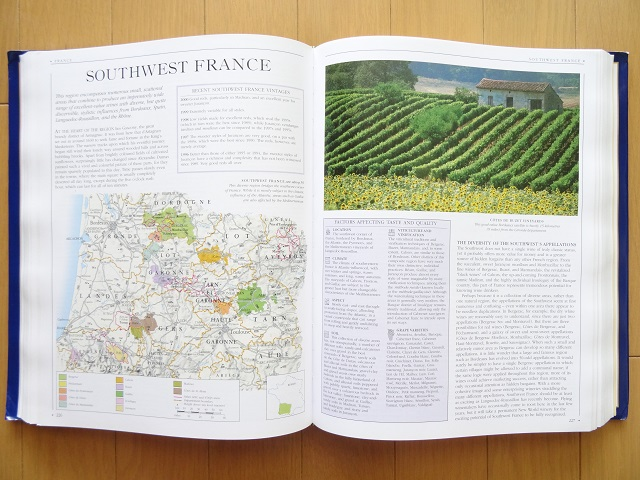 洋書◆ワイン大百科 本 ラベル ボルドー ブルゴーニュ フランス イタリア ドイツ アメリカ チリ_画像3