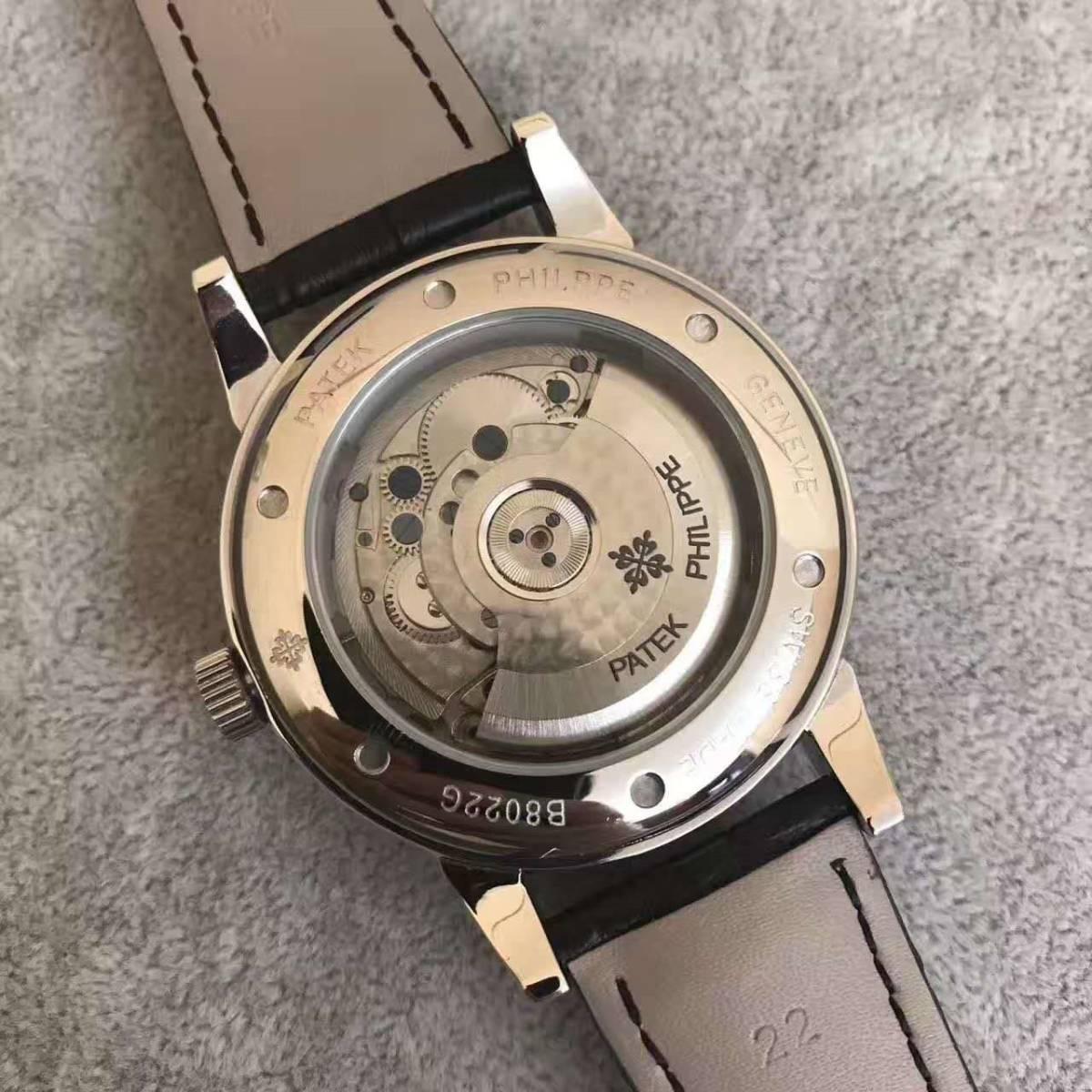 新品 パテックフィリップ 自動巻き時計 大人気 腕時計 オートマティック メンズ _画像3