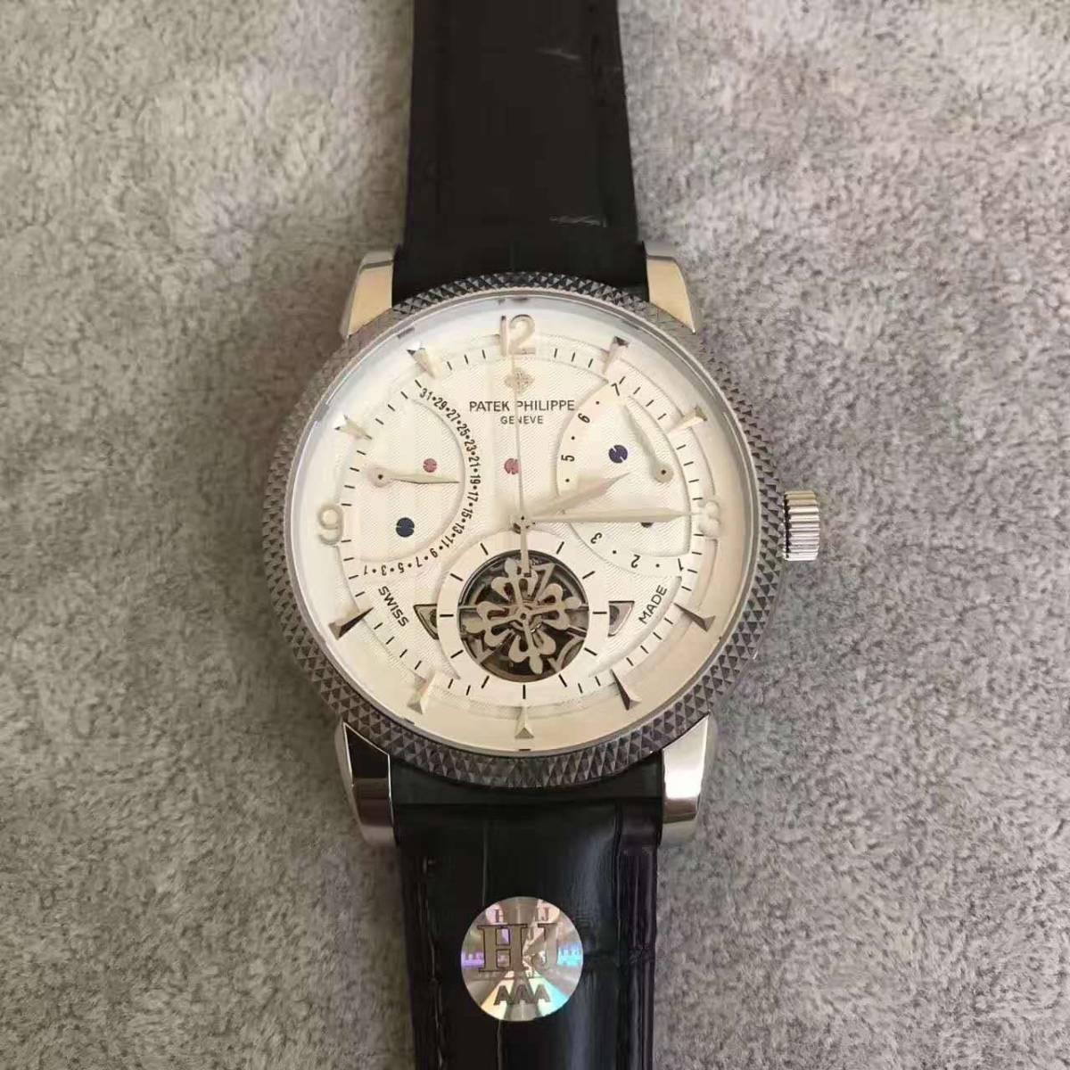 新品 パテックフィリップ 自動巻き時計 大人気 腕時計 オートマティック メンズ