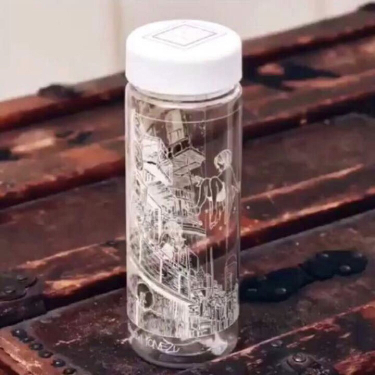 新品未使用 米津玄師 ルーヴル美術館 スリムクリアボトル