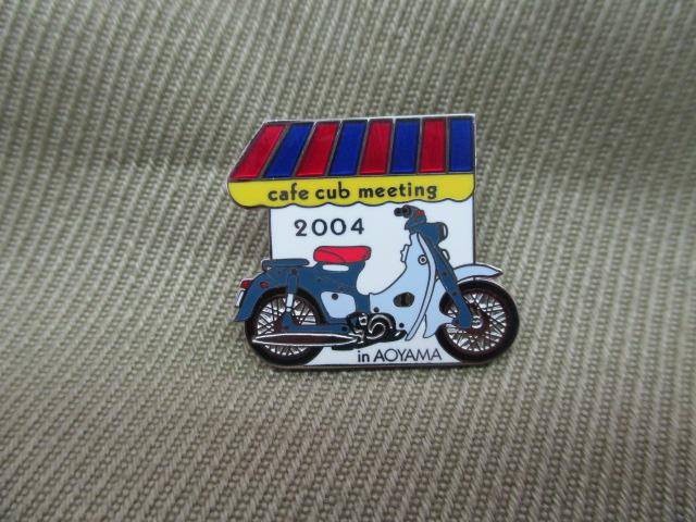 ホンダ ピンズコレクション カフェカブ 2004 C100スーパーカブ 希少 在庫僅少