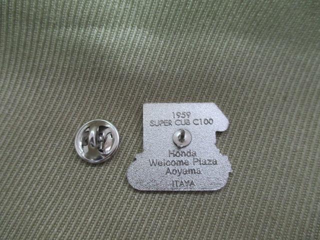 ホンダ ピンズコレクション カフェカブ 2004 C100スーパーカブ 希少 在庫僅少_画像2