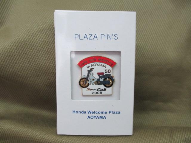 ホンダ ピンズコレクション カフェカブ 2008 C100 スーパーカブ 発売50周年 希少_画像3