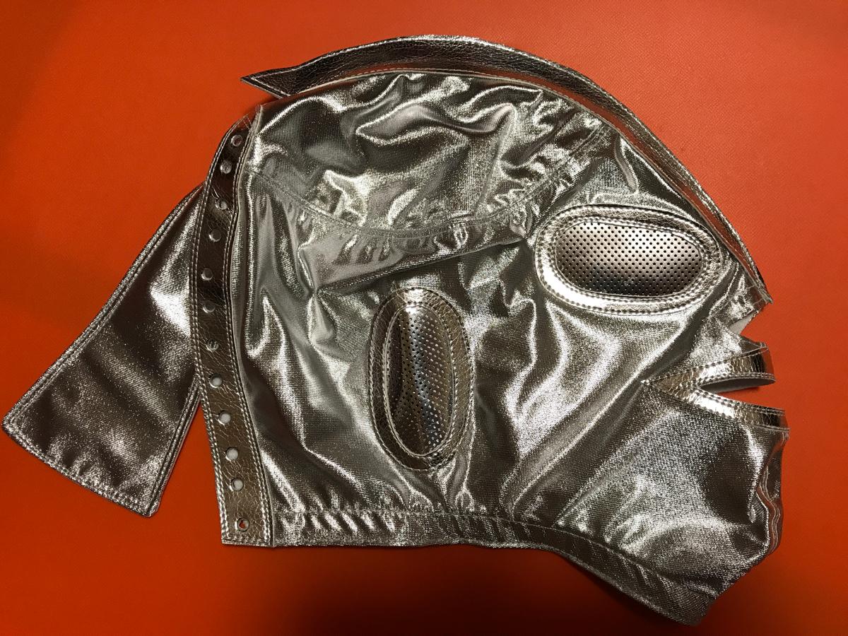 ウルトラマン・初代・銀シルク・試合用マスク・宇宙仮面・メキシコ・昭和 グッズの画像