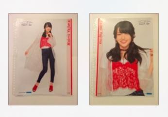 ℃-ute コレクション ピンナップポスター 矢島舞美 2種セット ラストコンサート さいたまスーパーアリーナ ライブグッズの画像