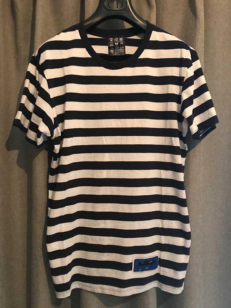 小沢健二(オザケン)、魔法的ツアー物販のボーダーTシャツMサイズです。