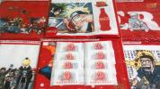 Drink - コカ・コーラ 少年ジャンプ ドライマフラータオル全6種&ワンピース20thマグネットクリップ8個