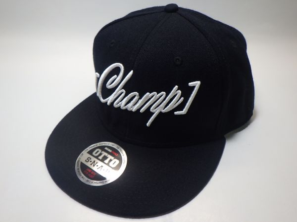 シャンペイン Champagne OTTO Champ ロゴ 刺繍 キャップ 未使用 美品 アレクサンドロス RX-RECORDS バンド ツアー グッズ CAP 野球帽 希少