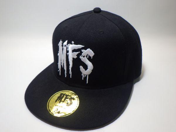 MY FIRST STORY マイファス 「MFS」 ロゴ 刺繍 キャップ 未使用 美品 ロック バンド ツアー グッズ CAP 帽子 マイ ファースト ストーリー