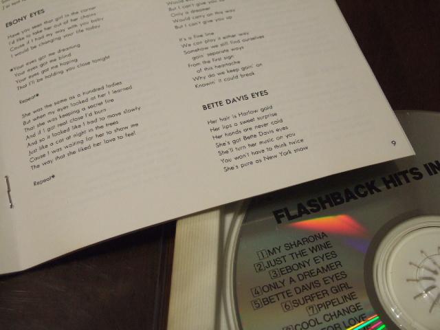 CD FM802 FLASH BACK HITS in U.S.A MY SHARONA ザ・ナック ビーチボーイズ ベンチャーズ