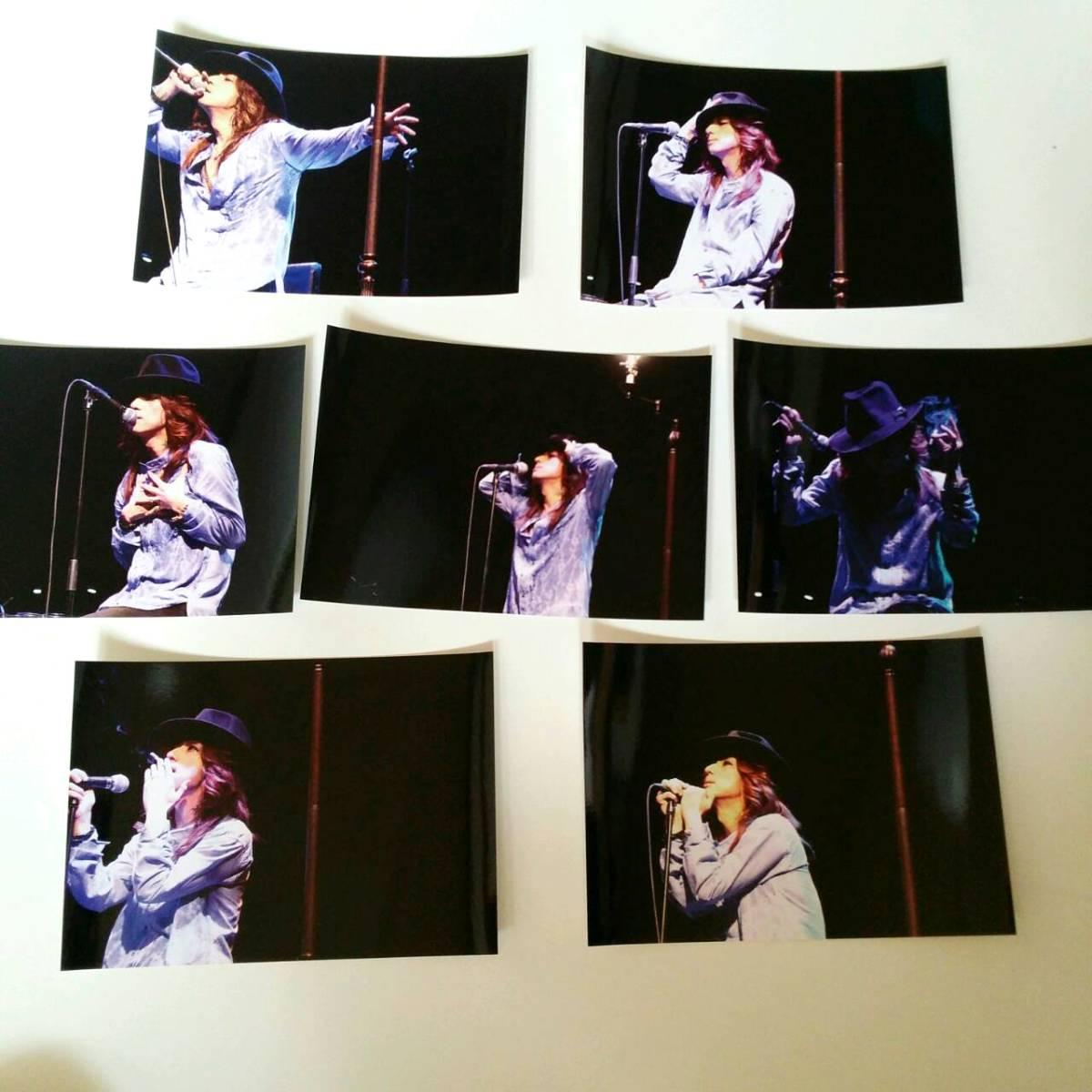 フォトカード MONTHLY PLUGLESS 5/23 A 7枚セット 黒夢 清春 KUROYUME KIYOHARU SADS サッズ