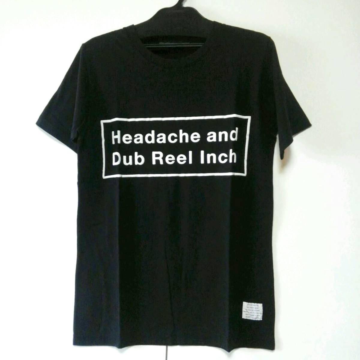 ブラック S 黒夢 清春 Headache and Dub Reel Inch Tシャツ KUROYUME KIYOHARU SADS サッズ