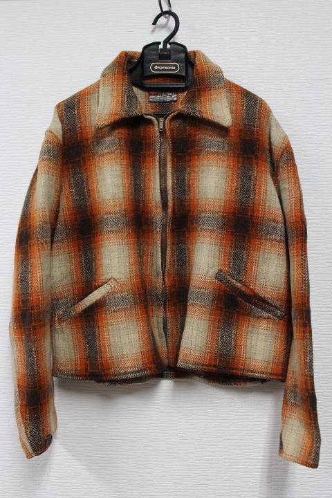 ★50s Vintage FORTY BELOW ウールチェック スポーツジャケット スポジャケ ヴィンテージ ビンテージ 50年代_画像1