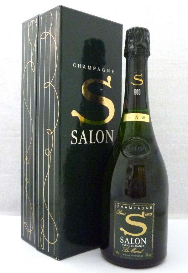 CHAMPAGNE SALON 1983 BLANC de BLANCS Le Mesnil サロン ブランドブラン ルメニル シャンパーニュ 1本のみ 1YYH-084AK