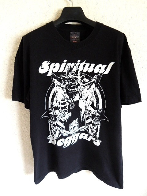 spiritual beggars スピリチュアル・ベガーズ ロックTシャツ 黒 L ハードロック 北欧 クリックポスト