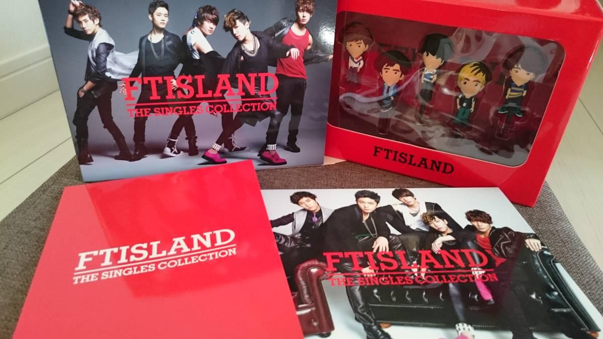 【FTISLAND】THE SINGLES COLLECTION《イヤホンジャック》(完全生産限定盤) CD・DVD未再生 ライブグッズの画像