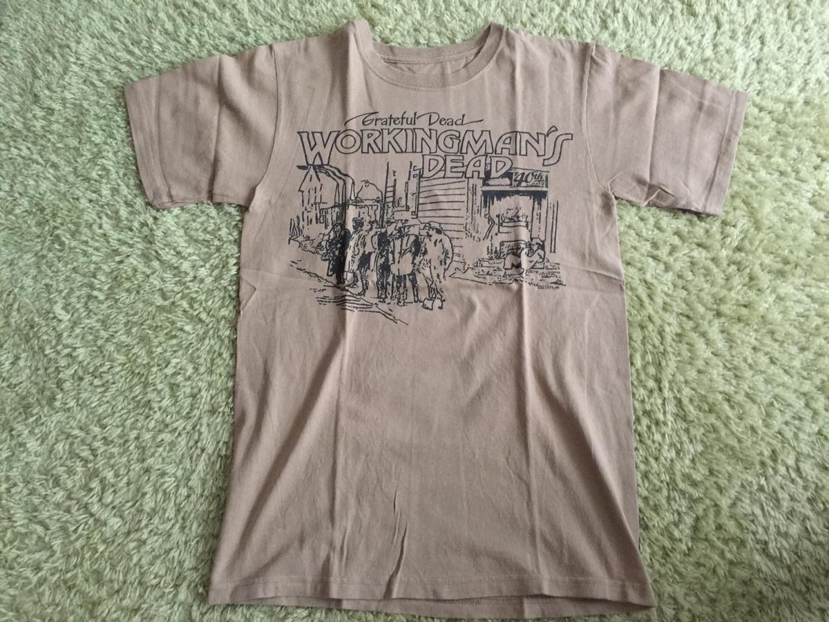 古着 Tシャツ グレイトフルデッド Grateful dead jerry garcia ジェリーガルシア workingman's dead 2010年コピーライト