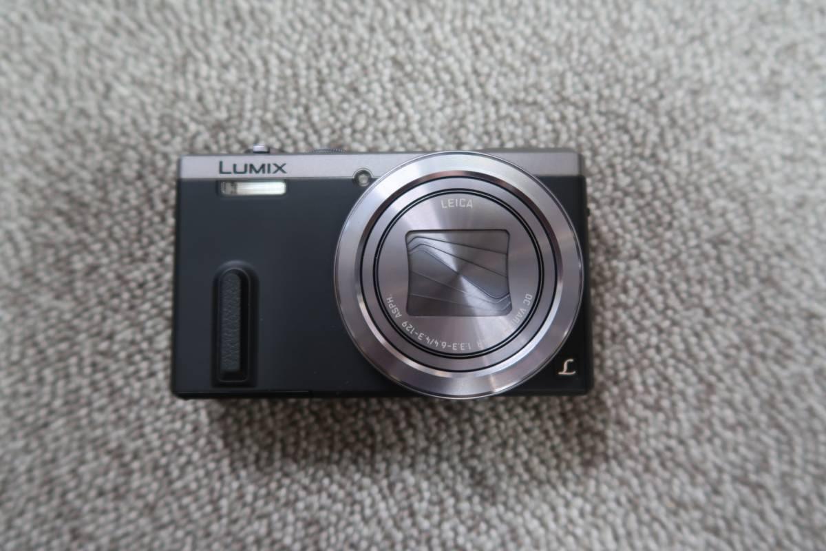 Panasonic パナソニック LUMIX DMC-TZ60-S シルバー 中古