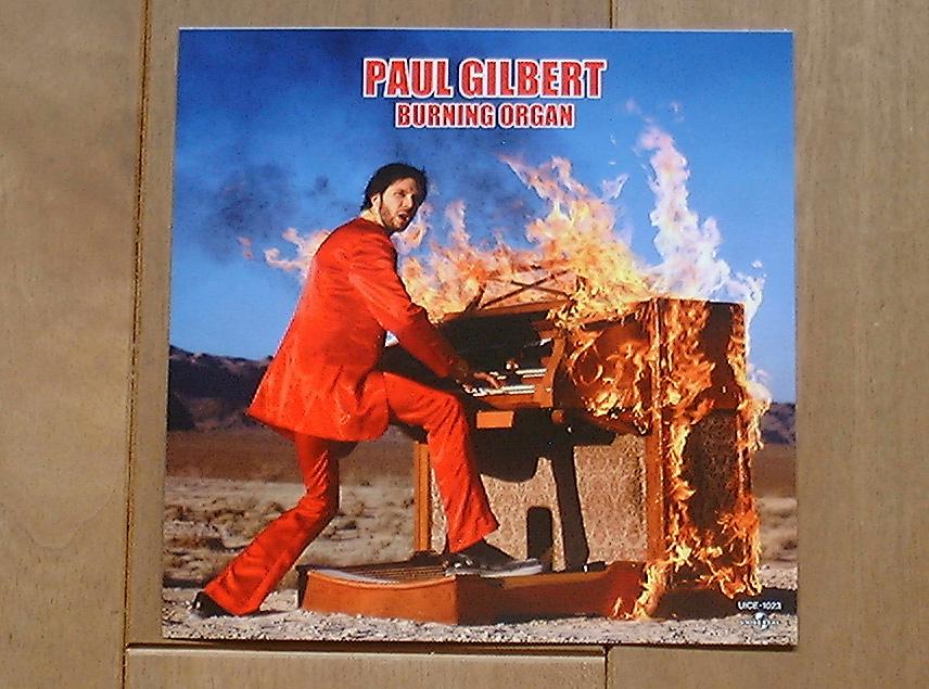 ポール・ギルバート BURNING ORGAN ステッカー