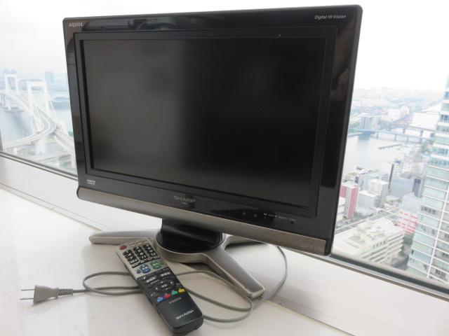 【AQUOS】シャープ 20V型 ハイビジョン 液晶テレビ アクオス LC-20D10