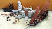 レゴロードオブザリング LEGO Lord of the Ringsヘルム峡谷お城、海賊船など中古ブロックまとめ