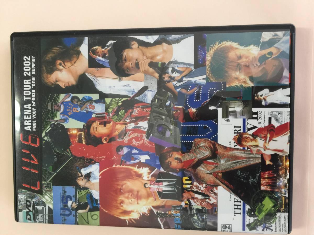 LIV6 ARENA TOUR 2002 コンサートグッズの画像