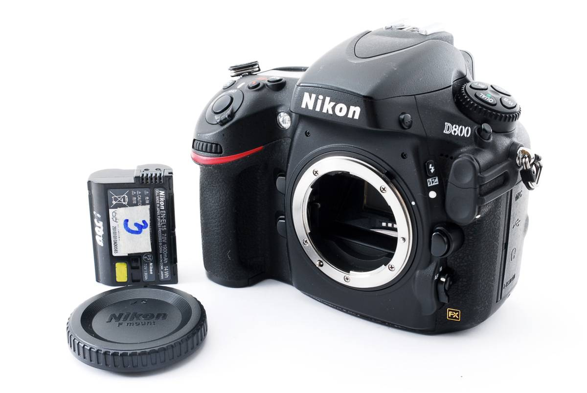 ニコン NIKON D800 ボディ ●455