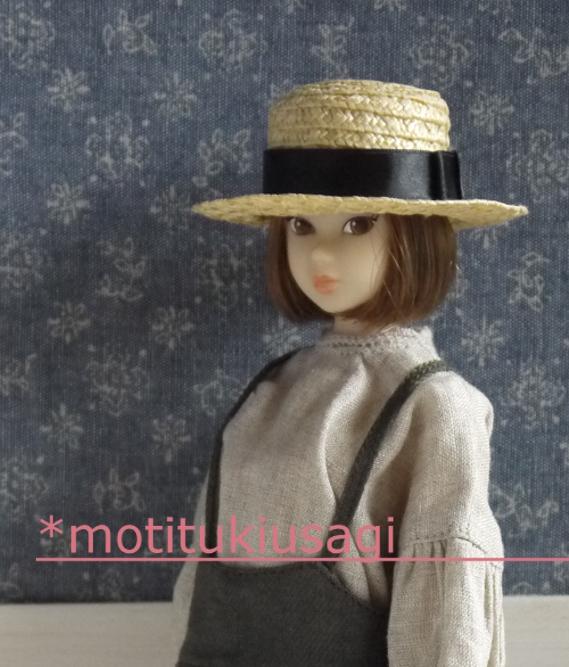 *motitukiusag momoko麻ブラウスのセット
