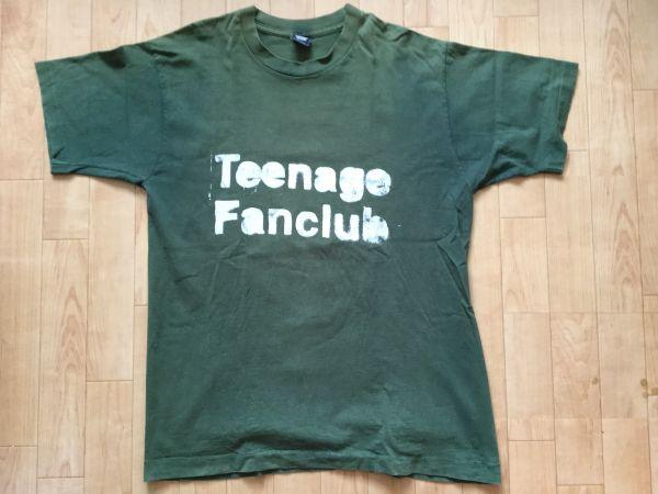 90s Teenage Fanclub ティーンエイジ・ファンクラブ オリジナル ビンテージ Tシャツ