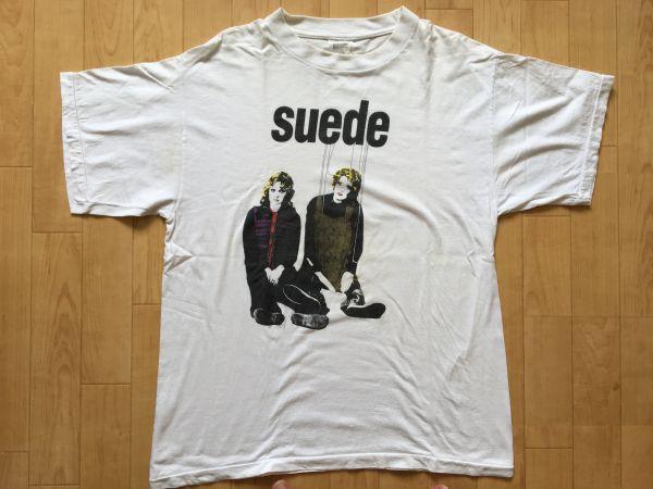 90s Suede スウェード ビンテージ オリジナル Tシャツ