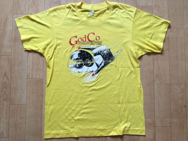 90s God Is My Co-pilot ゴッド・イズ・マイ・コパイロット オリジナル ビンテージ Tシャツ Lo-Hi ロウファイ