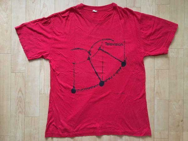 90s Television テレヴィジョン オリジナル ビンテージ Tシャツ