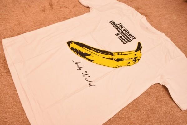 ヴェルヴェット アンダーグランド / THE VELVET UNDERGROUND & NICO  ルーリード Tシャツ アンディウォーホル 新品 M