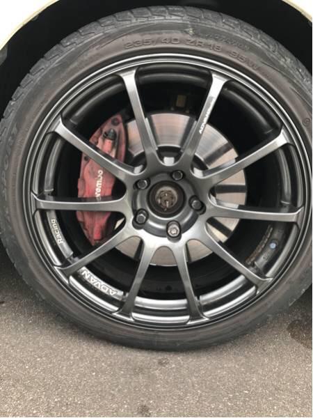 ADVAN アドバン RS 18インチ 8J+37 4本セット