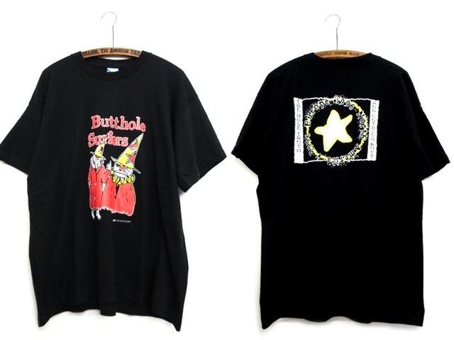 デッドストック【'96 ビンテージ バットホールサーファーズ 北米&ヨーロッパ ツアー Tシャツ 90s 80s butthole surfers オルタナ
