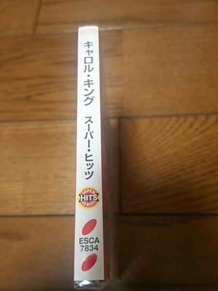 未開封国内盤CD キャロルキング スーパーヒッツ CAROLE KING_画像2