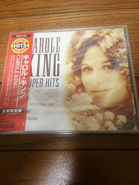 未開封国内盤CD キャロルキング スーパーヒッツ CAROLE KING_画像1