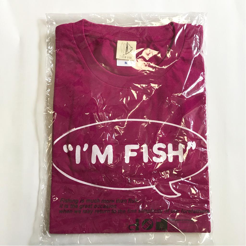 新品FISHMANSフィッシュマンズI'M FISH Tシャツ TEE ピンクパープル系 M