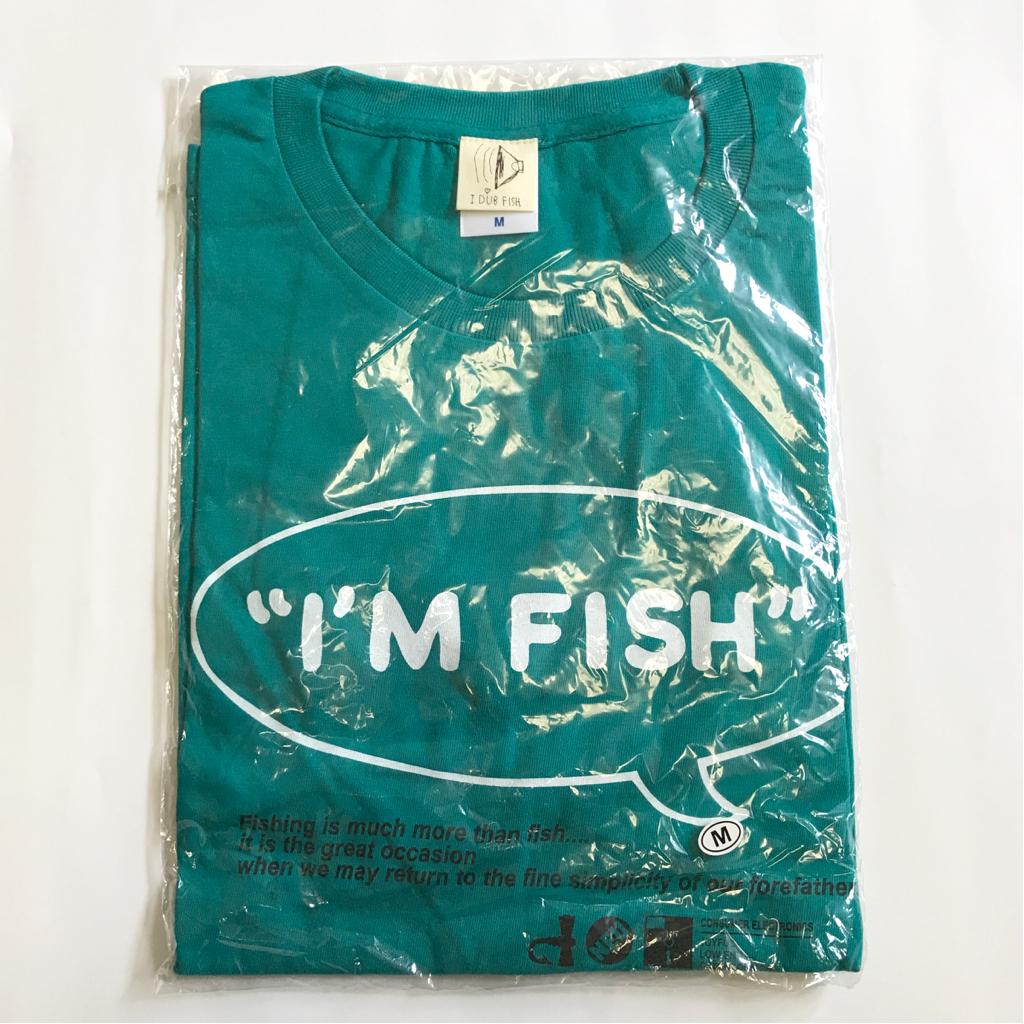新品FISHMANSフィッシュマンズI'M FISH Tシャツ TEE アップルグリーン系M