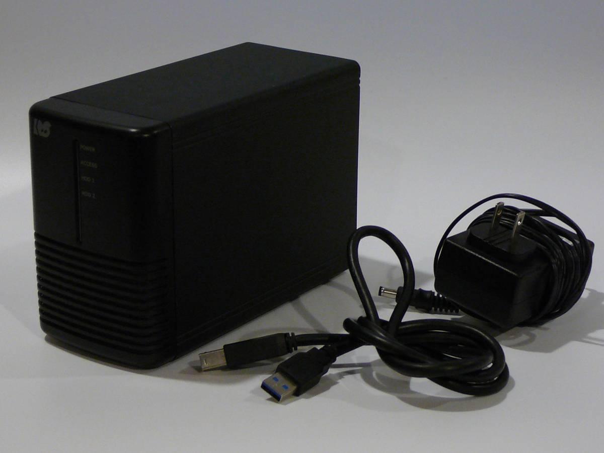 ラトックシステム RAID HDDケース USB3.0 (HDD2台用) RS-EC32-U3R