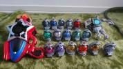 戰隊系列 - 宇宙戦隊キュウレンジャー おもちゃやキュー玉等19個セット