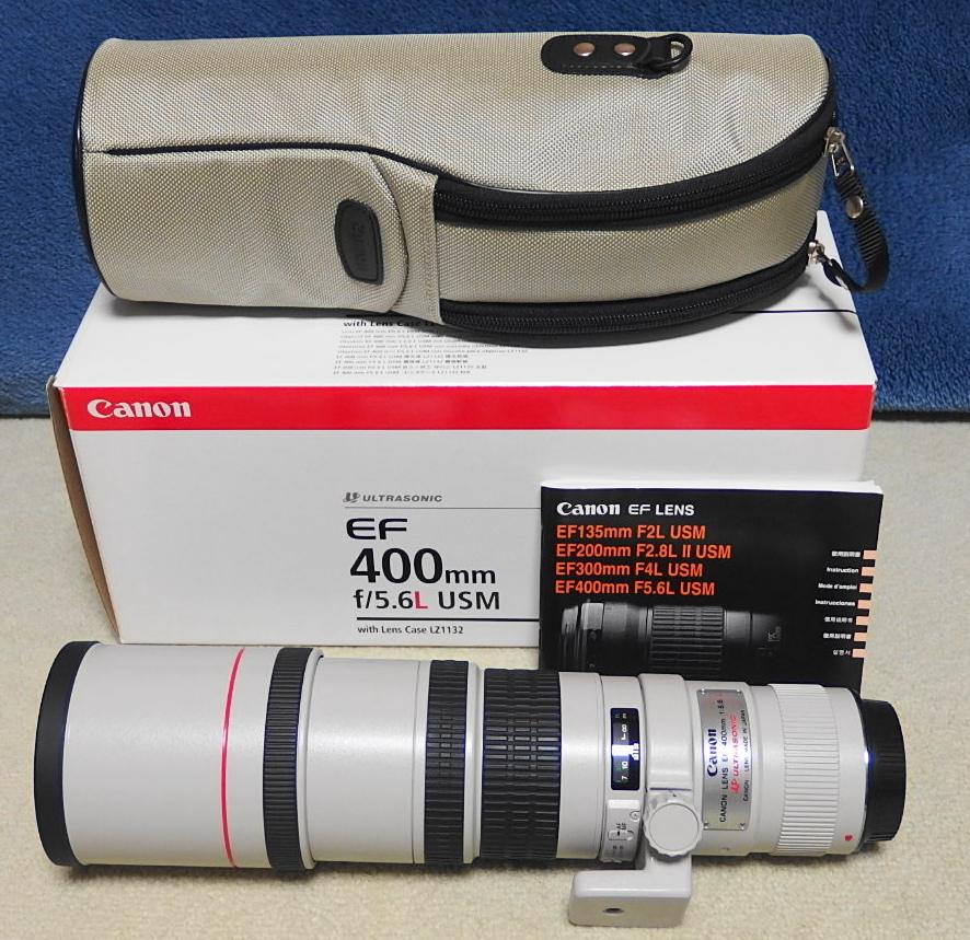 ★超美品★Canon EF 400mm F5.6L USM 【三脚座付き】