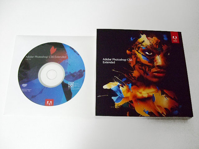 Adobe Photoshop CS6 Extended 日本語版 Mac【2台認証可/美品】